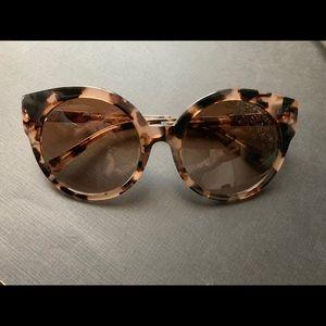 Michael Kors tortoise large sunglasses